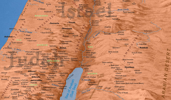 map.biblical.israel