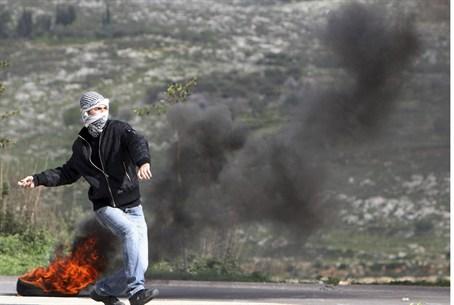 Arab with Smoke Bomb