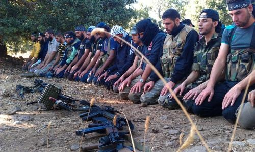 Syrians with guns