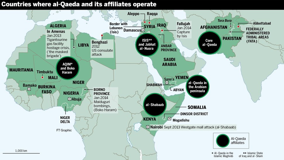alqaeda on the march