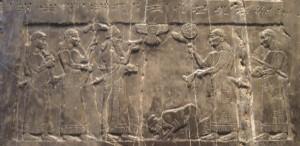 assyrian frieze