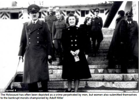hitler and nazi woman