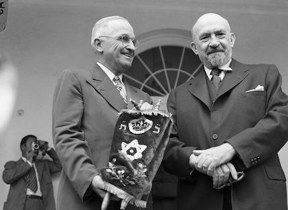 Truman and Weizmann