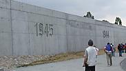 Monument in memory of Lodz Jews Photo: Ariel Carmon
