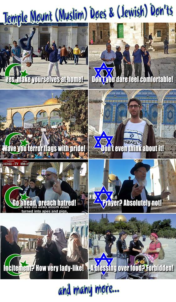 dos and donts on Temple Mount