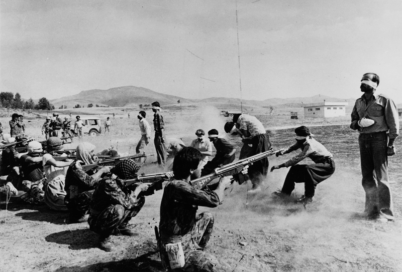 executing Kurds