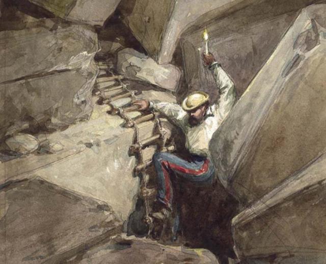 Painting of Charles Warren