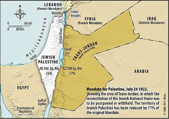 1922 palestine