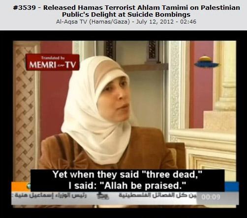 Terrorist on t.v.