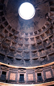 Dome of the Pantheon built