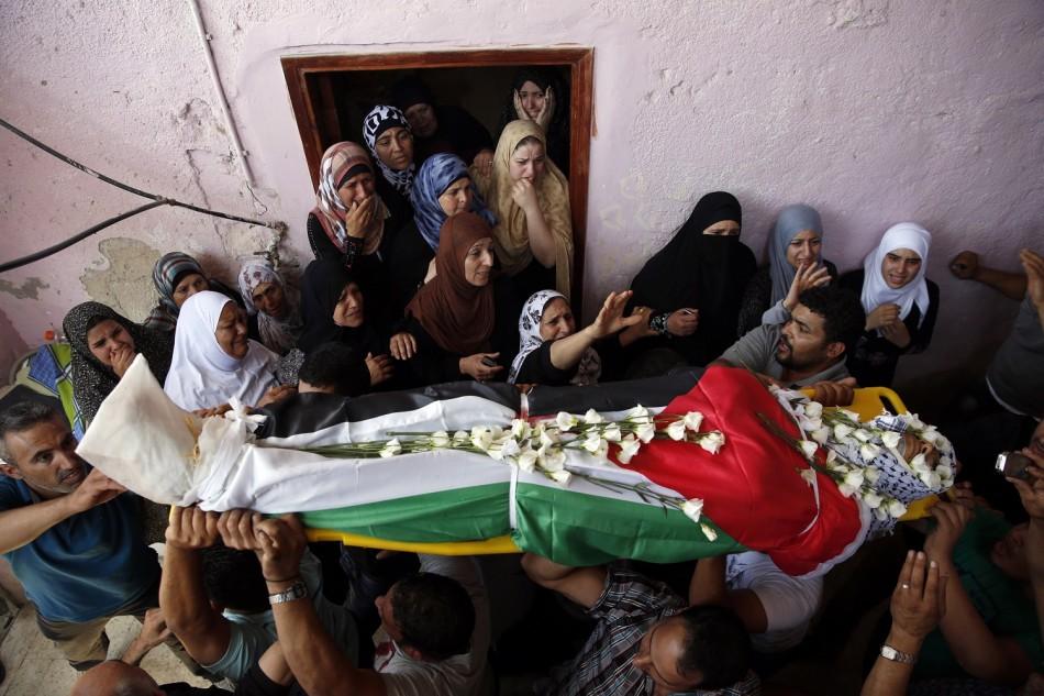 qalandiya funeral