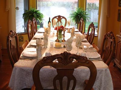 sabbath table