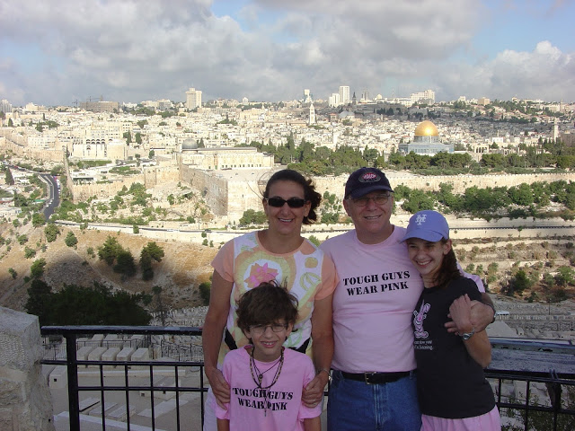 family in jerusalem