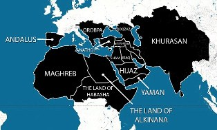 isis map of world