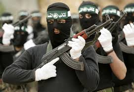 masked arab fighters