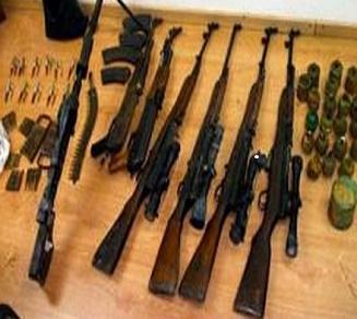 gaddafi guns