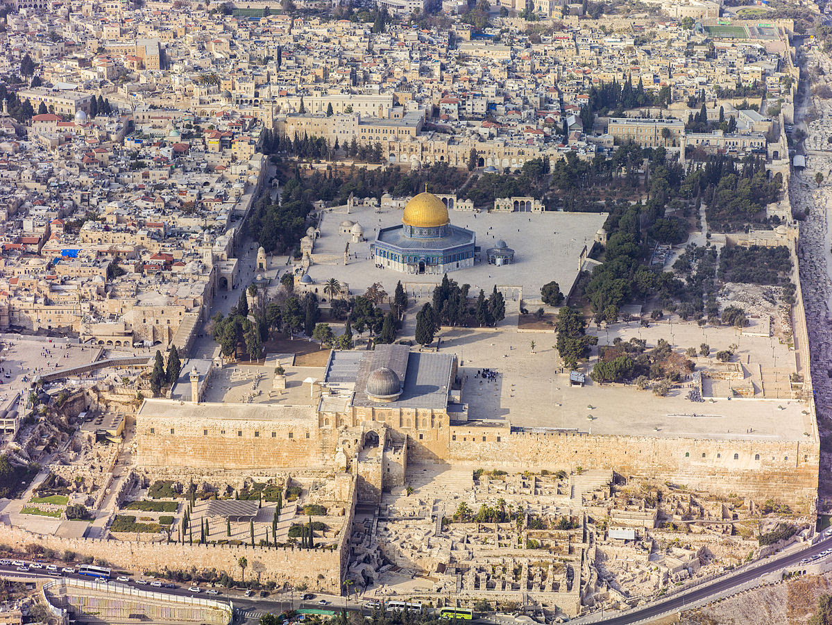 aerial temple mount