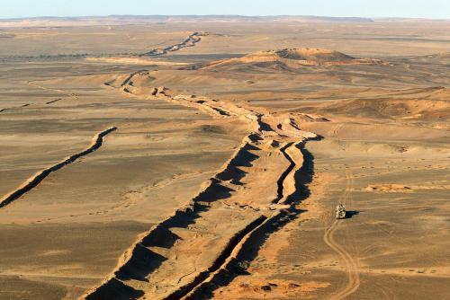 Morocco's berm wall