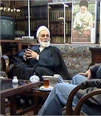 Ali Akbar Nateq Nuri, advisor to Khamenei