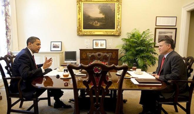 obama and abdullah