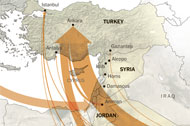 The Arms Pipeline to the Syrian Rebels
