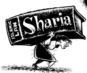 burdened by sharia