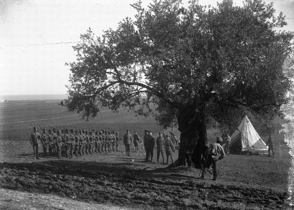 jewish brigade and tents