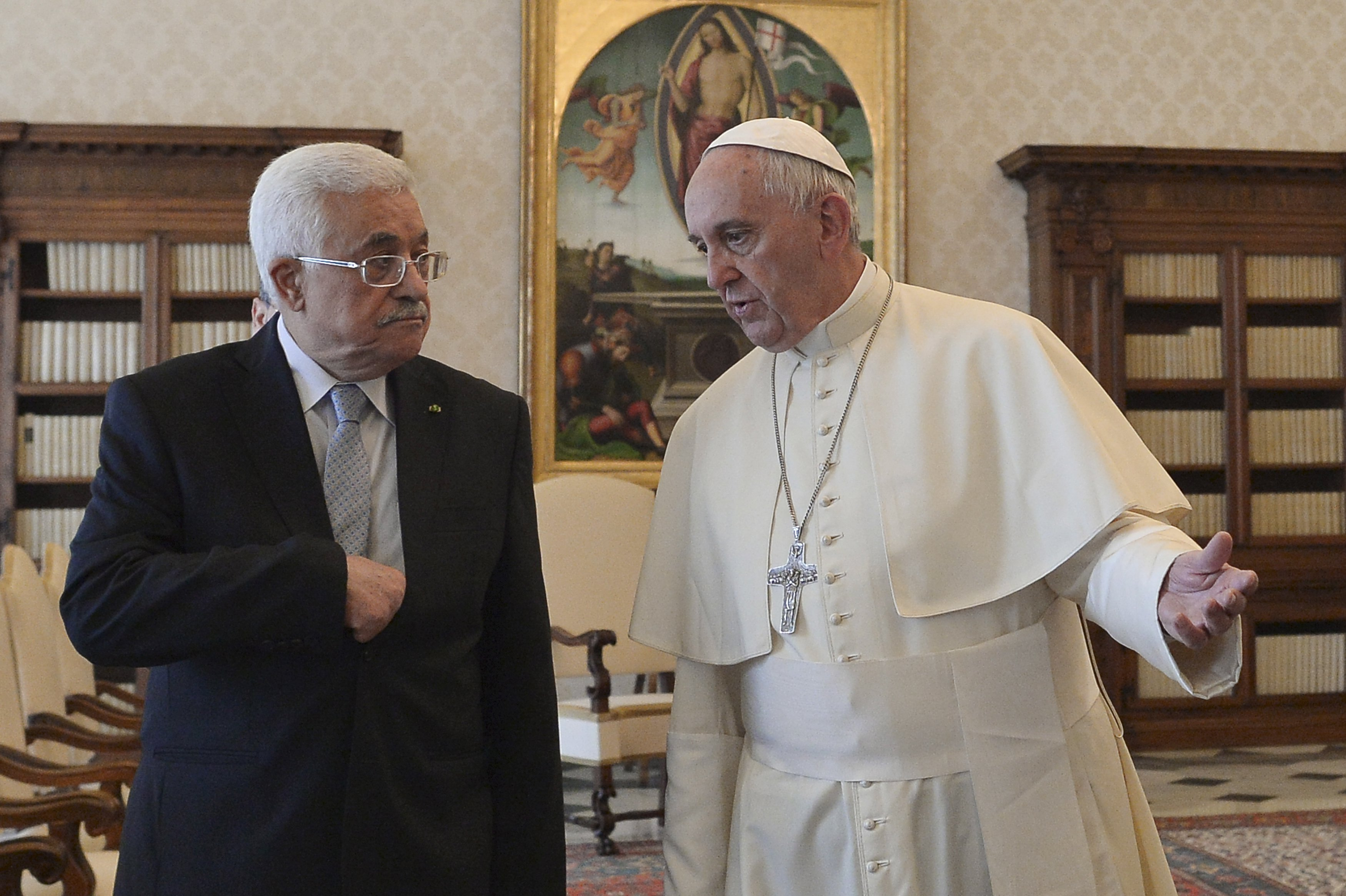 pope and abbas