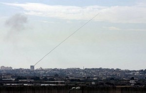 rocket attack on Israel