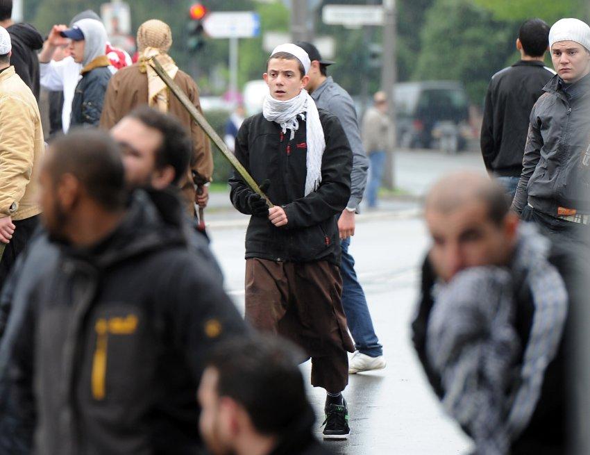 pro-NRW-demostrators