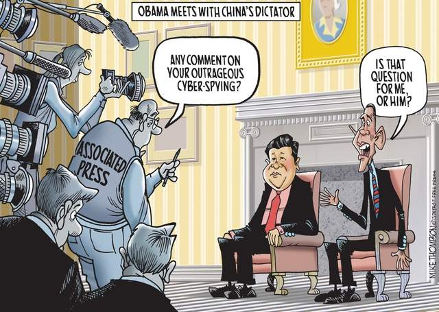 obama meets with china's dictator