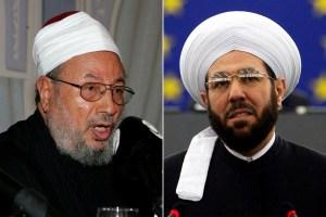 preacher Qaradawi and Hassoun