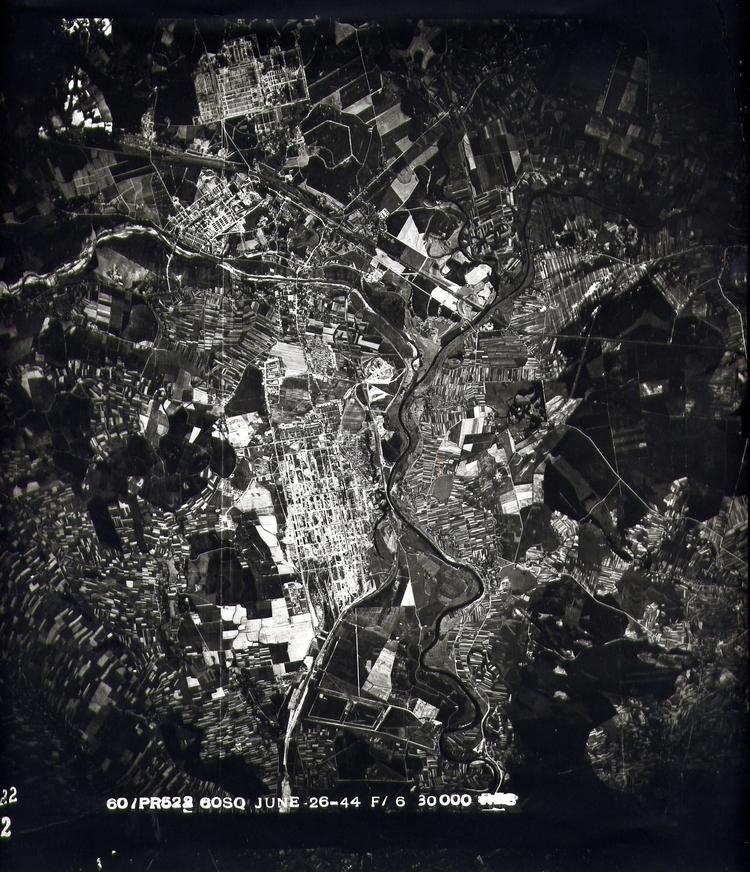 Auschwitz aerial