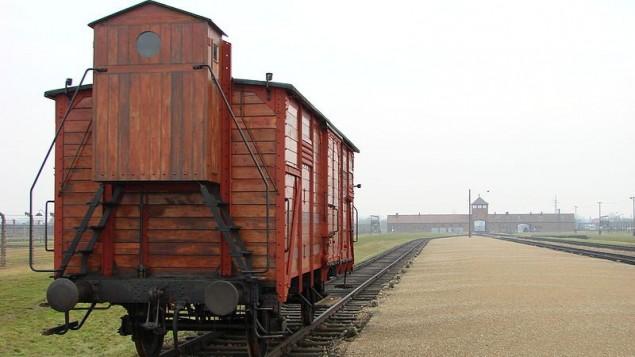 Judenrampe platform at Auschwitz