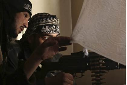 Islamist rebels in Syria