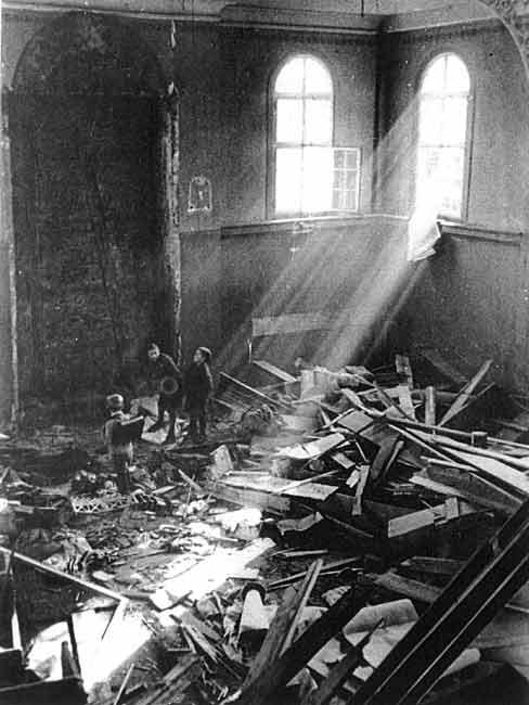 ruined synagogue