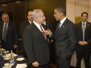 obama pointing finger at netanyahu