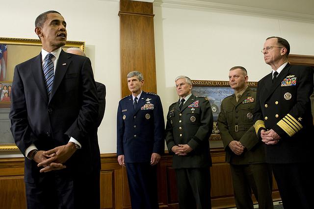obama purging army