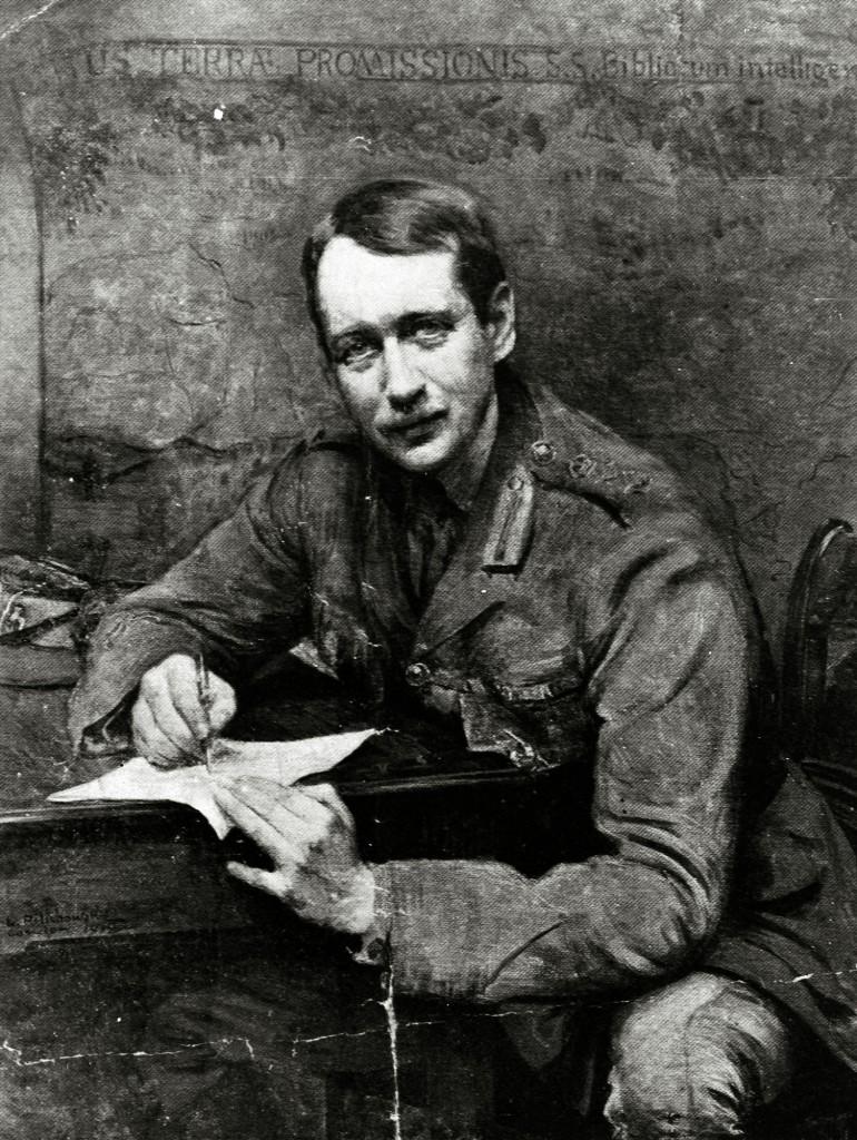 Leopold Pilichowski's 1918 portrait of Sir Mark Sykes. (Photo: Wikimedia)