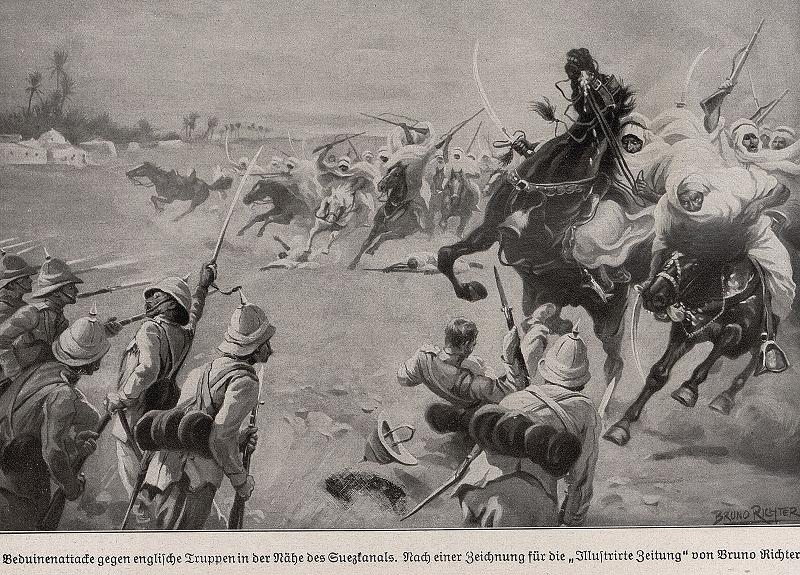 bedouin fighters
