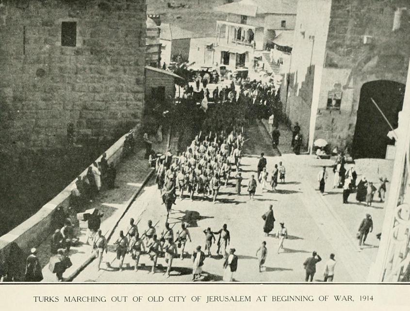 turks at jaffa gate