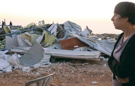 Destroyed Settlement