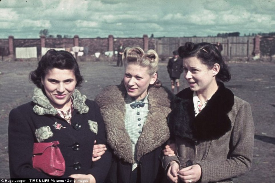 Three Girls In Coats