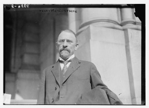 Morgenthau (circa 1914, Library of Congress)